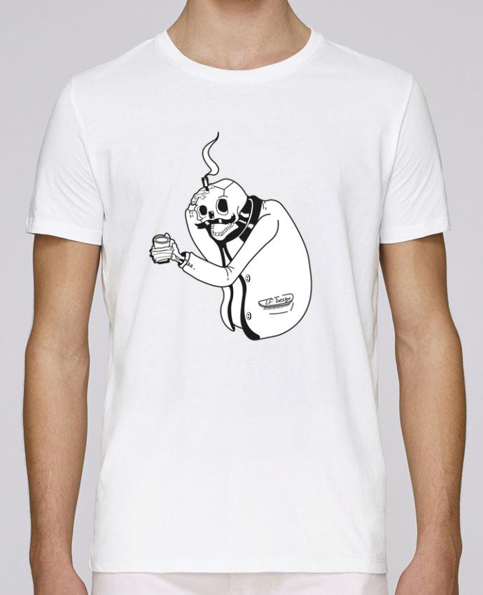 T-Shirt Col Rond Stanley Leads Tête de mort par LF Design