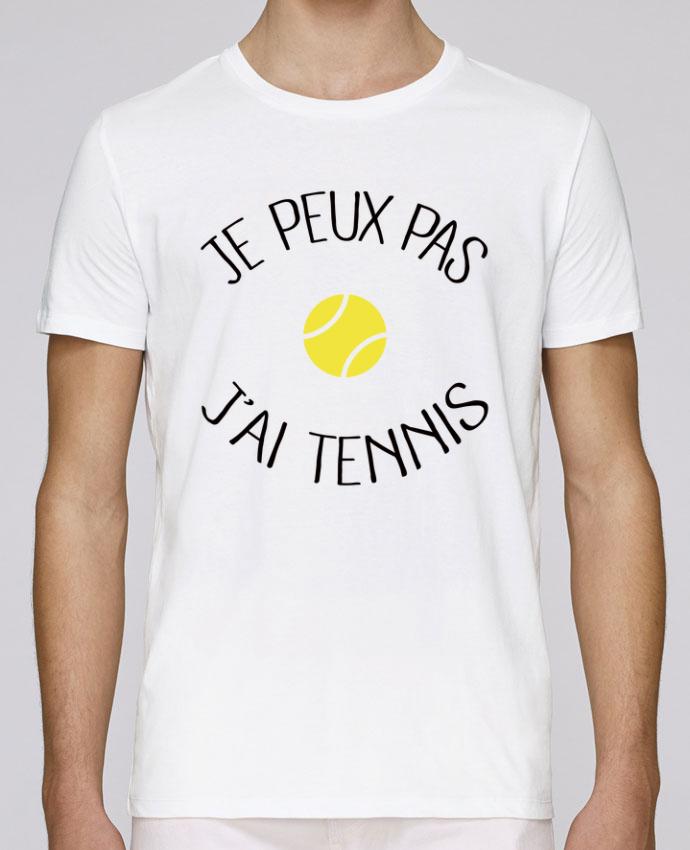 T-Shirt Col Rond Stanley Leads Je peux pas j'ai Tennis par Freeyourshirt.com