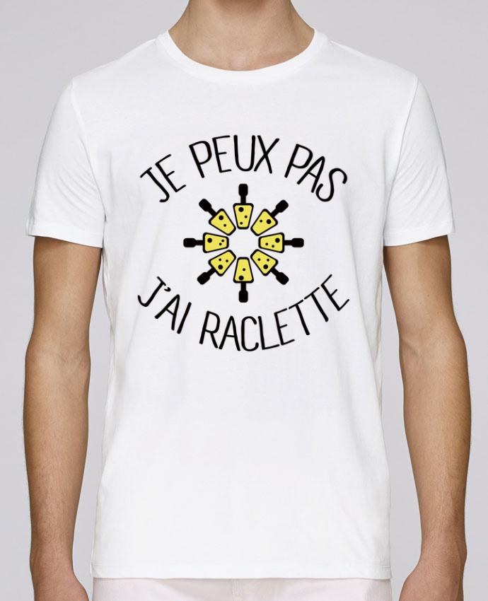 T-Shirt Col Rond Stanley Leads Je peux pas j'ai Raclette par Freeyourshirt.com