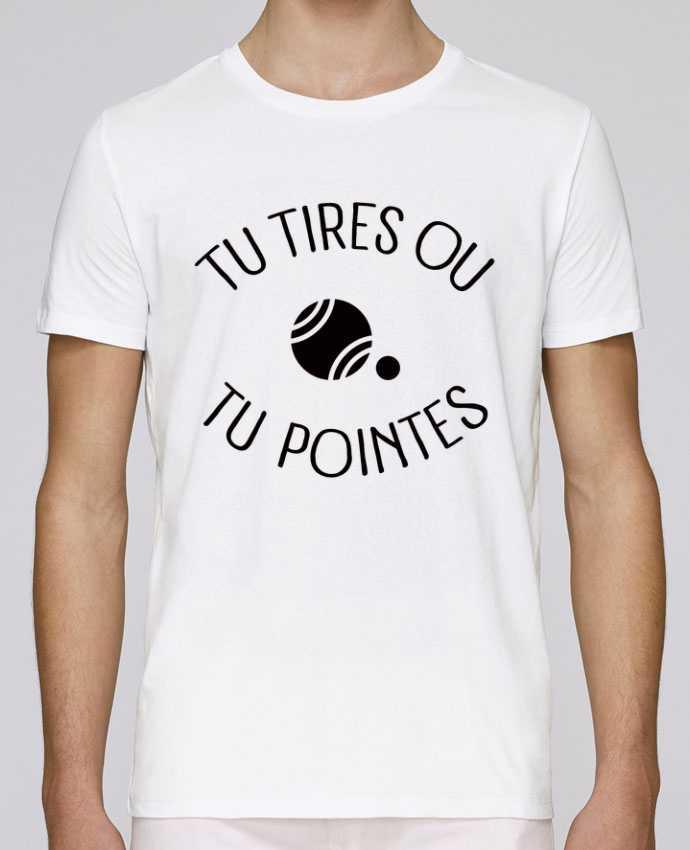 T-Shirt Col Rond Stanley Leads Tu Tires Ou Tu Pointes par Freeyourshirt.com