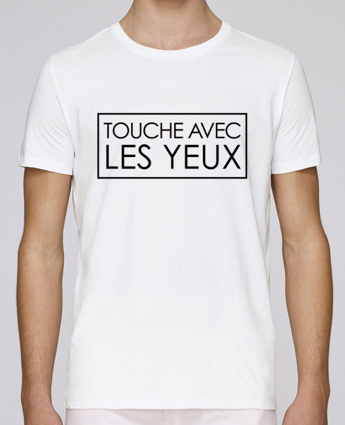 T-Shirt Col Rond Stanley Leads Touche avec les yeux par Freeyourshirt.com
