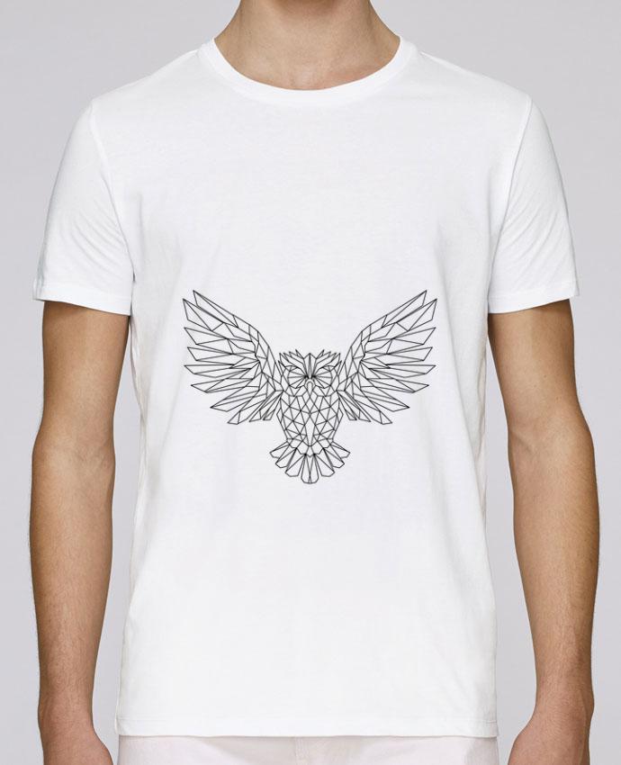 T-Shirt Col Rond Stanley Leads Geometric Owl par Arielle Plnd