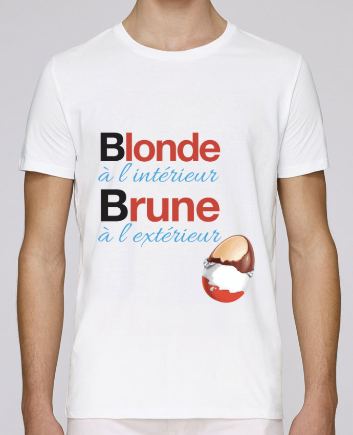 T-Shirt Col Rond Stanley Leads Blonde à l