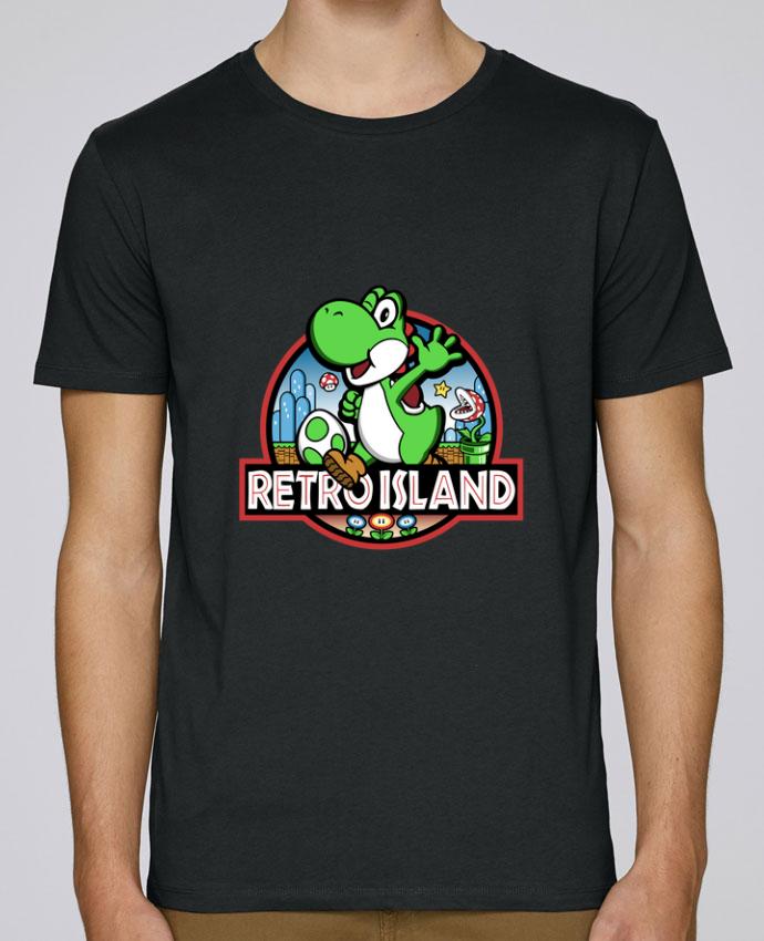 T-Shirt Col Rond Stanley Leads Retro Park par Kempo24