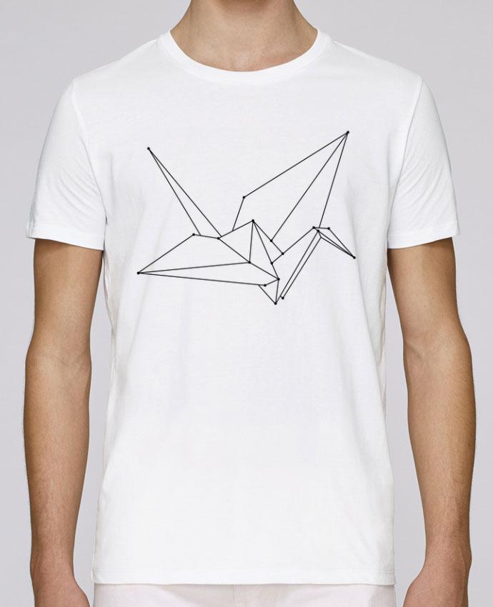 T-Shirt Col Rond Stanley Leads Origami bird par /wait-design