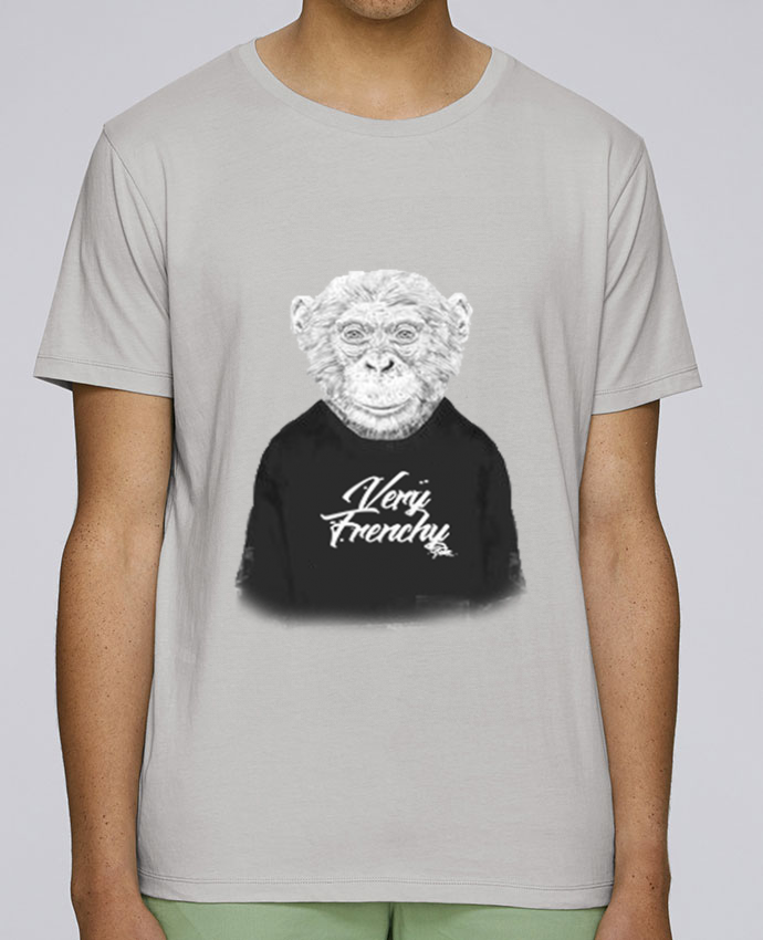 T-Shirt Col Rond Stanley Leads Monkey Very Frenchy par Bellec