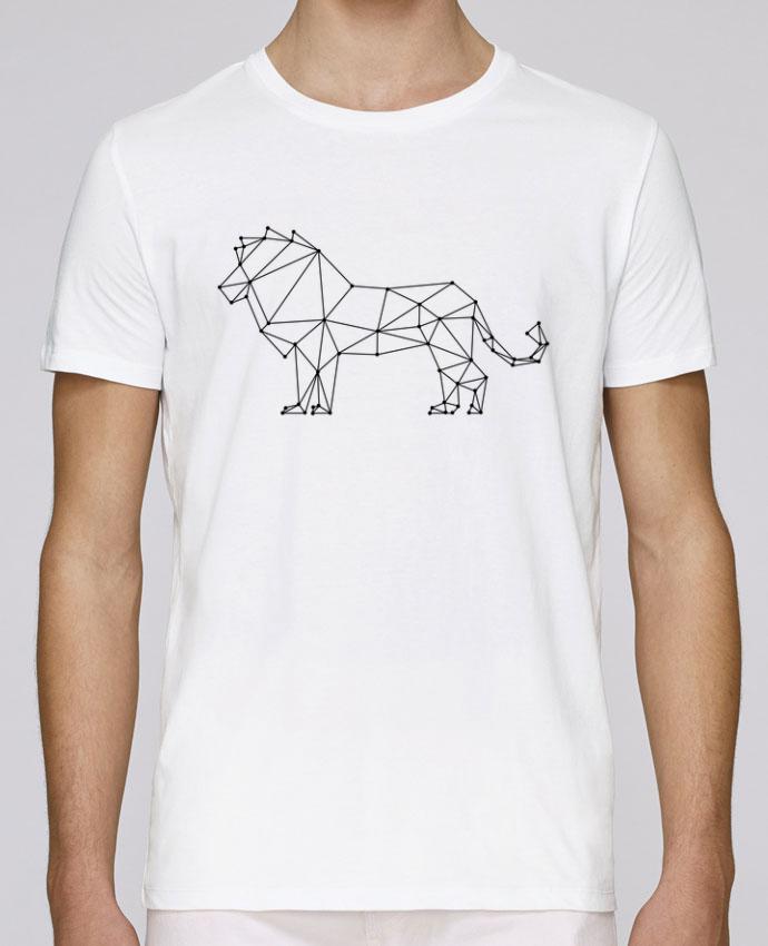 T-Shirt Col Rond Stanley Leads Origami lion par /wait-design
