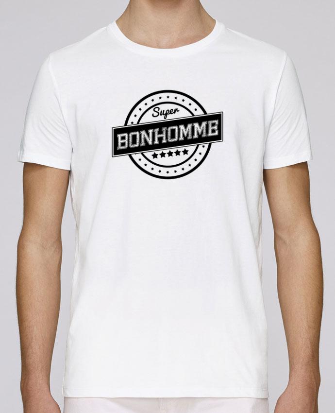 T-Shirt Col Rond Stanley Leads Super bonhomme par justsayin