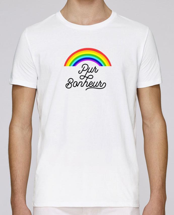 T-Shirt Col Rond Stanley Leads Pur bonheur par Les Caprices de Filles