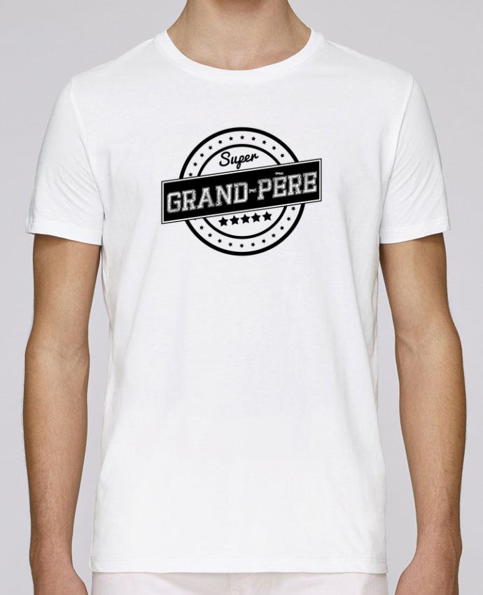 T-Shirt Col Rond Stanley Leads Super grand-père par justsayin