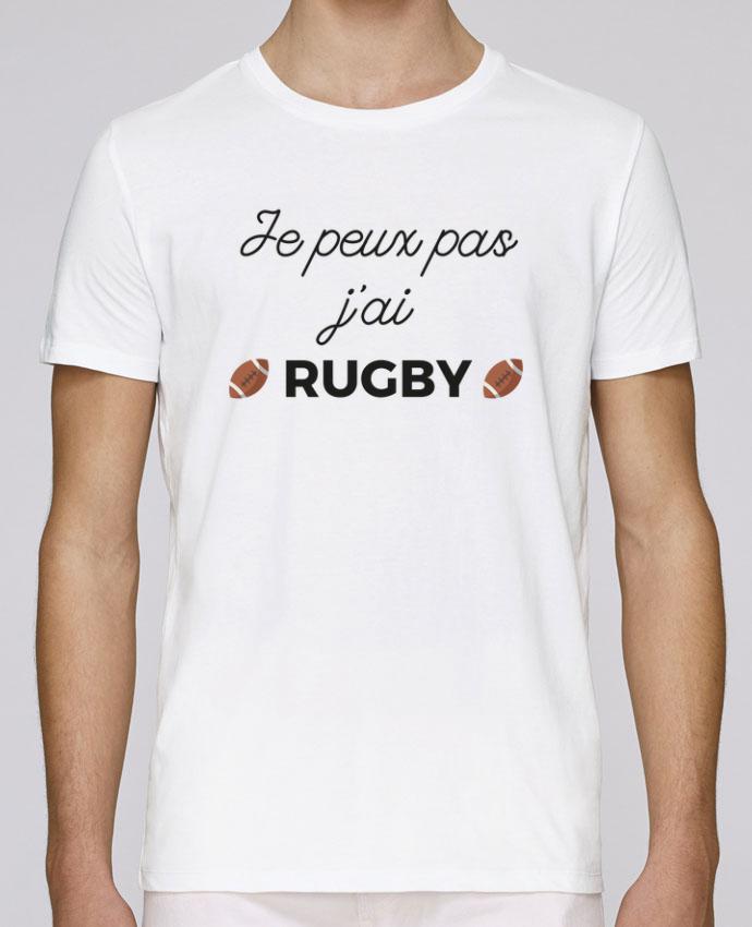 T-Shirt Col Rond Stanley Leads Je peux pas j'ai Rugby par Ruuud