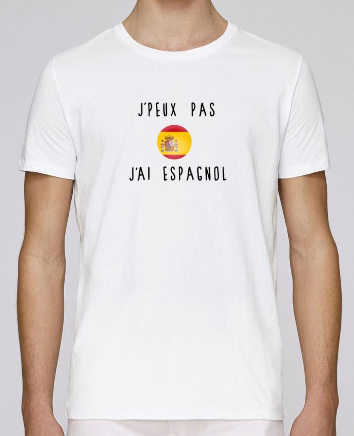 T-Shirt Col Rond Stanley Leads J'peux pas j'ai espagnol par Les Caprices de Filles