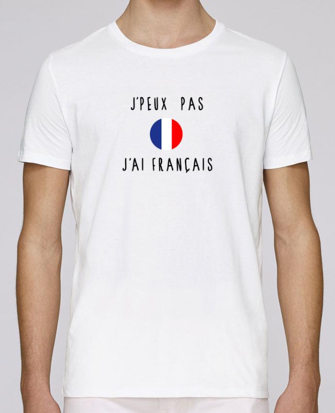 T-Shirt Col Rond Stanley Leads J'peux pas j'ai français par Les Caprices de Filles