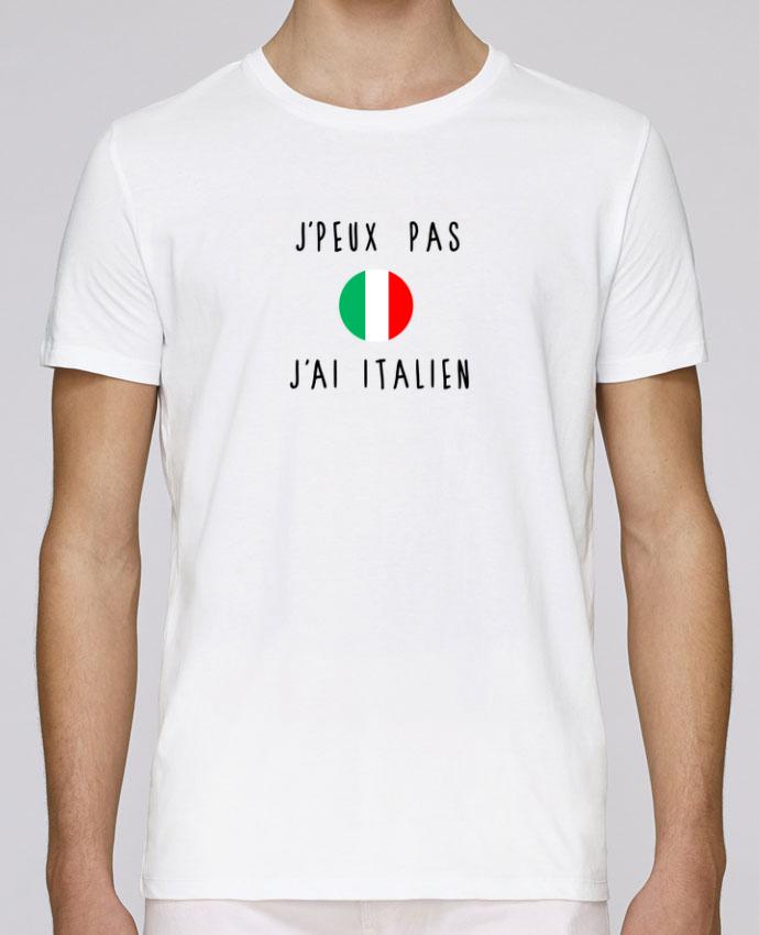 T-Shirt Col Rond Stanley Leads J'peux pas j'ai italien par Les Caprices de Filles