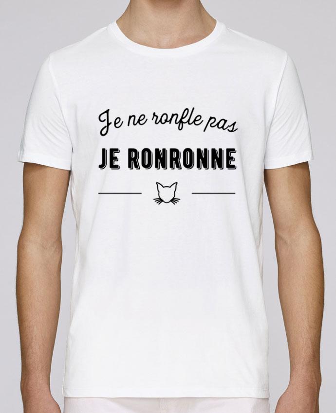 T-Shirt Col Rond Stanley Leads je ronronne t-shirt humour par Original t-shirt