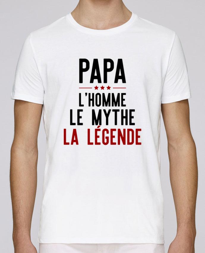 T-Shirt Col Rond Stanley Leads Papa la légende cadeau par Original t-shirt 35e4becf56d
