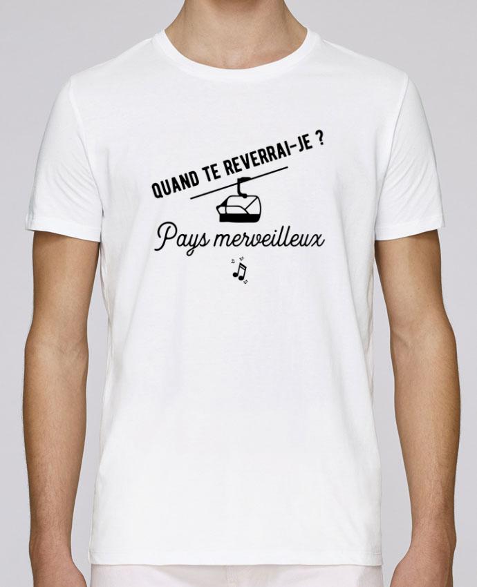 T-Shirt Col Rond Stanley Leads Pays merveilleux humour par Original t-shirt
