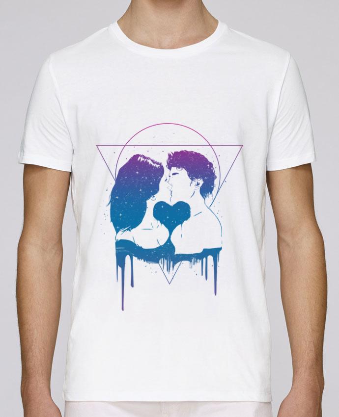 T-Shirt Col Rond Stanley Leads Cosmic love II par Balàzs Solti