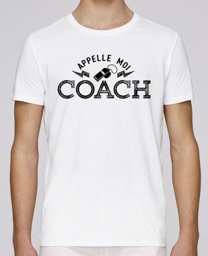T-Shirt Col Rond Stanley Leads Appelle moi coach par tunetoo