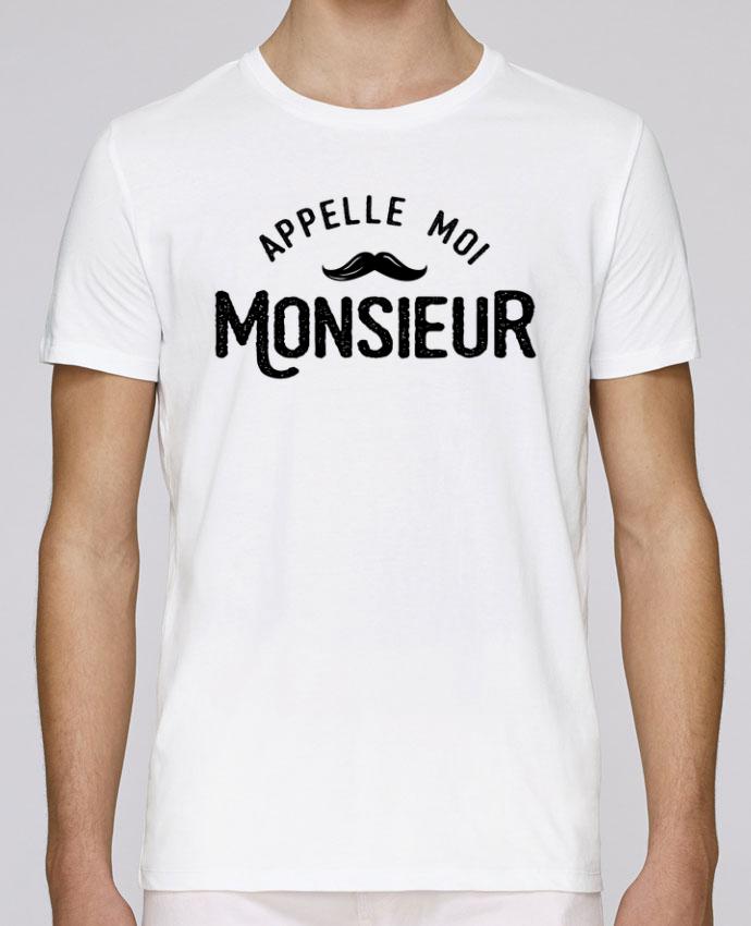 T-Shirt Col Rond Stanley Leads Appelle moi monsieur par tunetoo