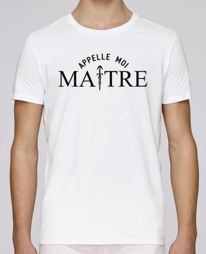 T-Shirt Col Rond Stanley Leads Appelle moi maître par tunetoo