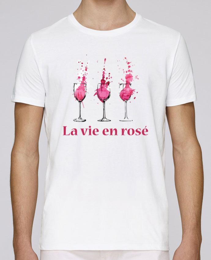T-Shirt Col Rond Stanley Leads La vie en rosé par tunetoo