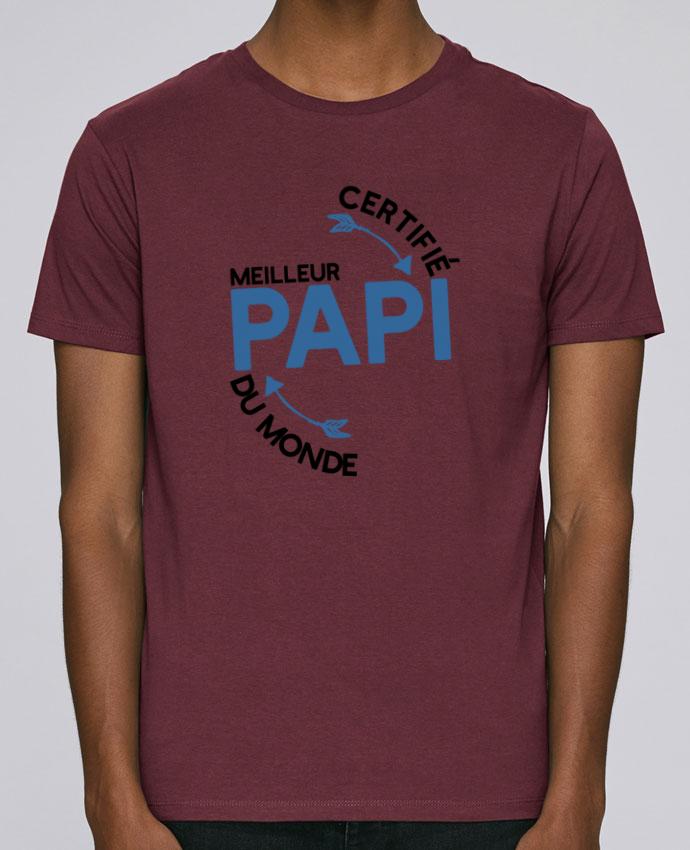 T-Shirt Col Rond Stanley Leads Certifié meilleur papi cadeau par Original t-shirt