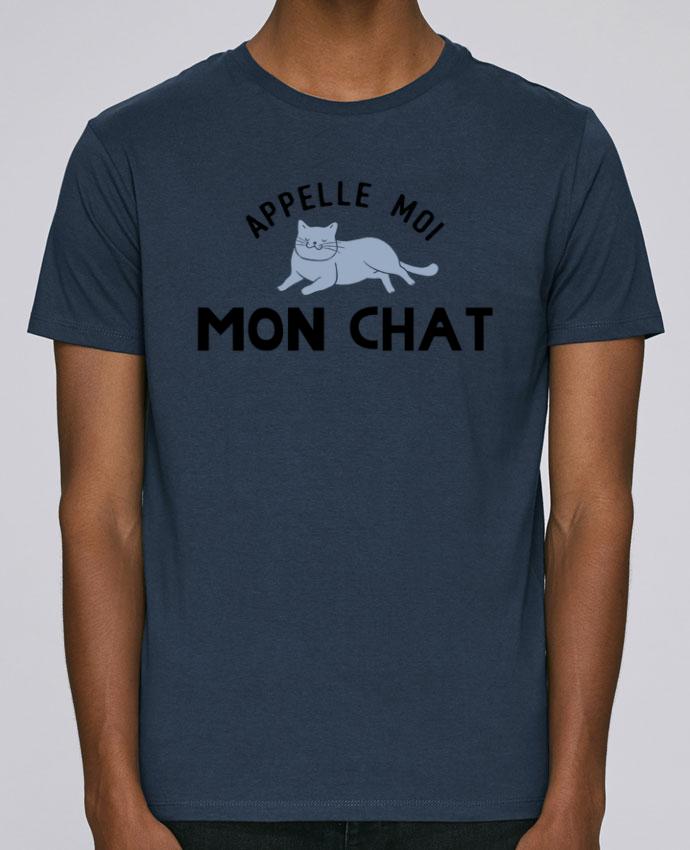 T-Shirt Col Rond Stanley Leads Appelle moi mon chat par tunetoo