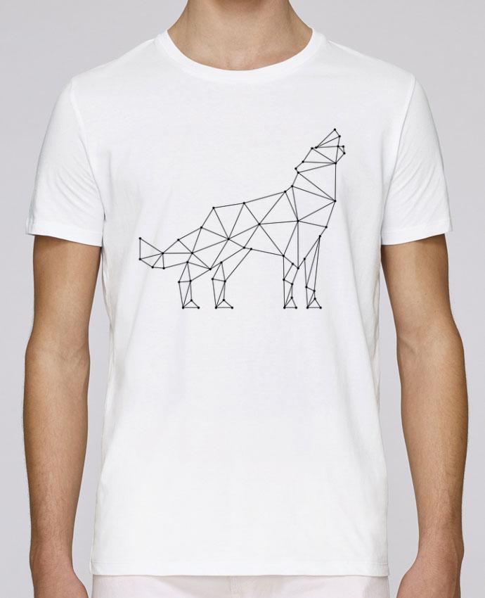 T-Shirt Col Rond Stanley Leads wolf - geometry par /wait-design