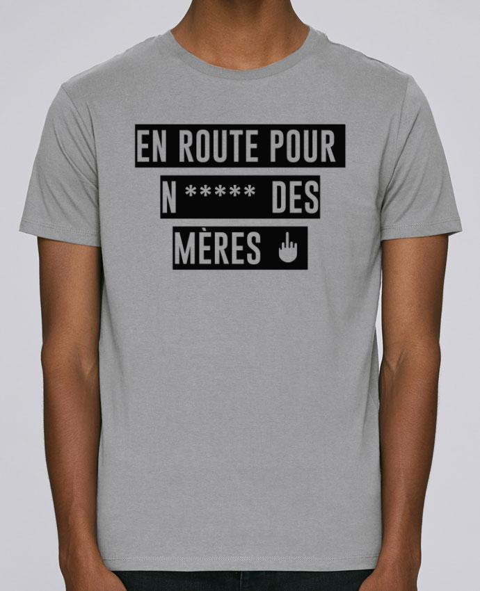 T-Shirt Col Rond Stanley Leads En route pour N***** des mères par tunetoo