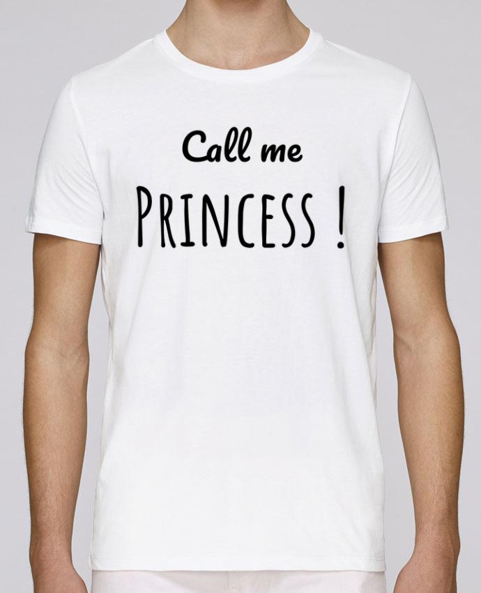 T-Shirt Col Rond Stanley Leads Call me Princess par Madame Loé