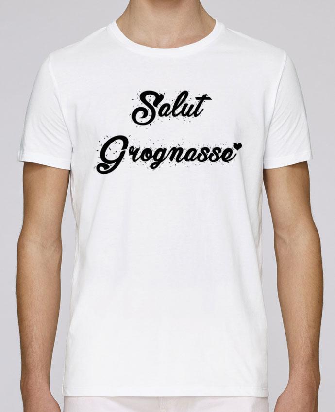 T-Shirt Col Rond Stanley Leads Salut grognasse ! par tunetoo