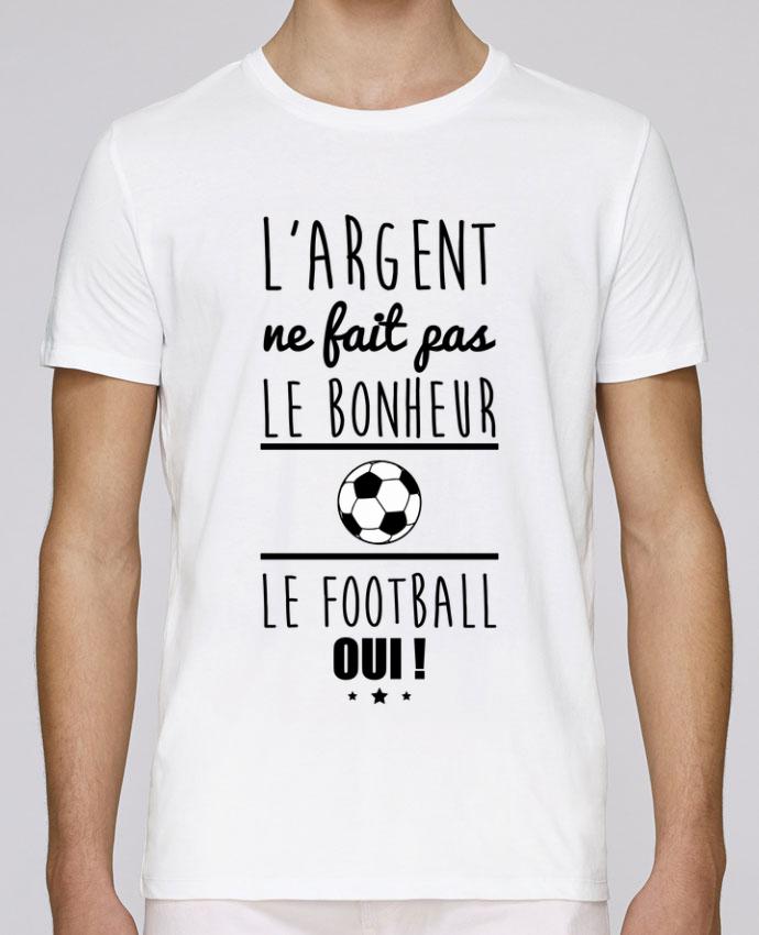 T-Shirt Col Rond Stanley Leads L'argent ne fait pas le bonheur le football oui ! par Benichan