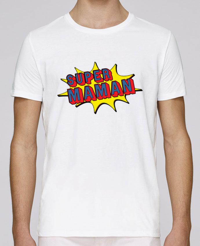 T-Shirt Col Rond Stanley Leads Super maman cadeau par Original t-shirt