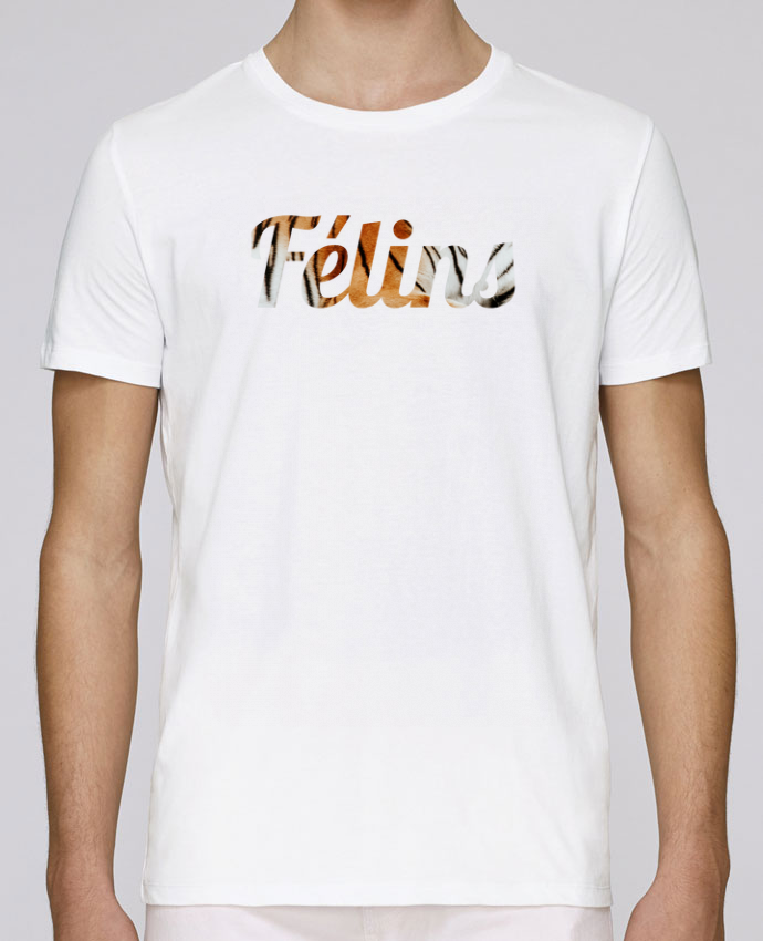 T-Shirt Col Rond Stanley Leads Félins by Ruuud par Ruuud