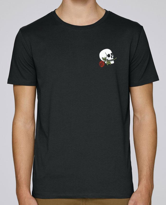 T-Shirt Col Rond Stanley Leads Skull flower par Ruuud