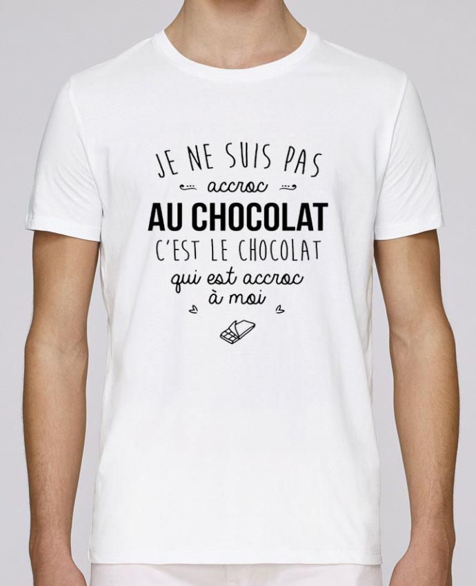 T-Shirt Col Rond Stanley Leads choco addict par DesignMe