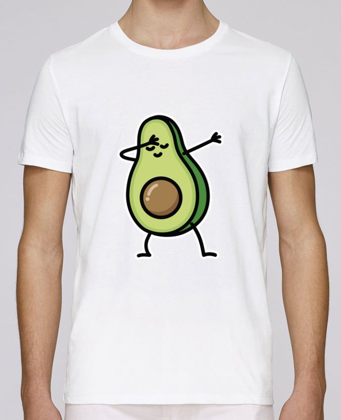 T-Shirt Col Rond Stanley Leads Avocado dab par LaundryFactory