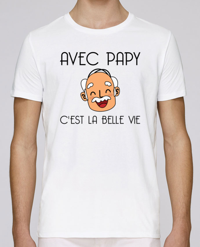 T-Shirt Col Rond Stanley Leads Avec papy c