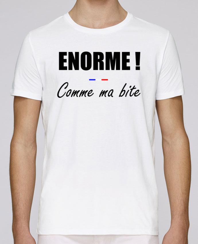 T-Shirt Col Rond Stanley Leads Énorme comme ma bite par tunetoo