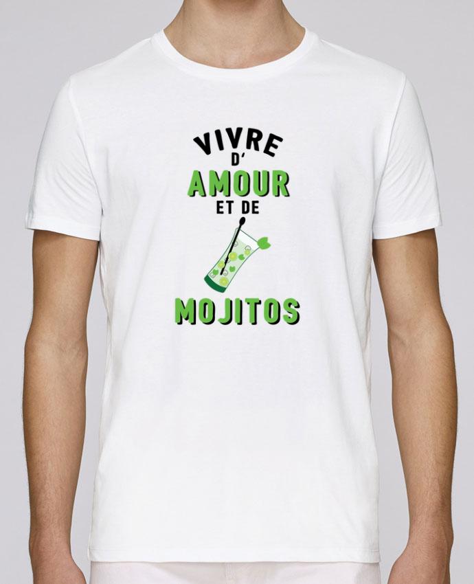 T-Shirt Col Rond Stanley Leads Vivre d'amour et de mojitos par tunetoo