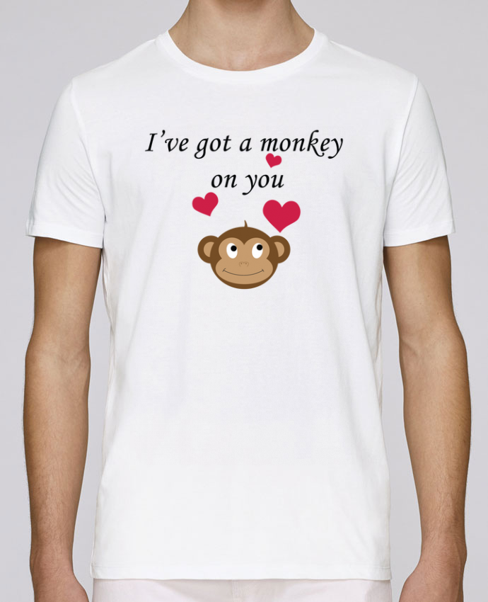 T-Shirt Col Rond Stanley Leads I've got a monkey on you par tunetoo