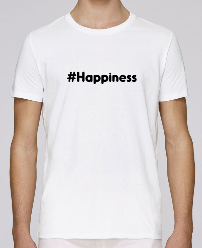 T-Shirt Col Rond Stanley Leads #Happiness par tunetoo