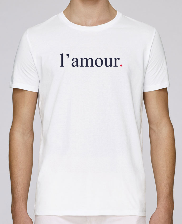 T-Shirt Col Rond Stanley Leads l'amour by Ruuud par Ruuud
