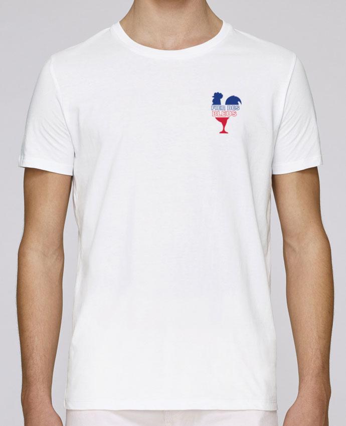 T-Shirt Col Rond Stanley Leads Fier des Bleus par tunetoo