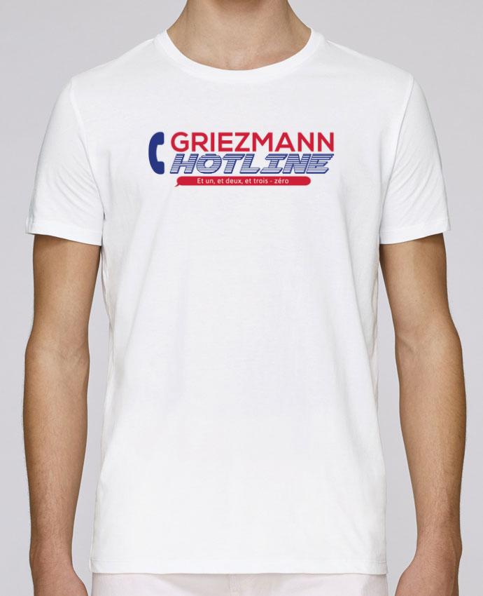 T-Shirt Col Rond Stanley Leads Griezmann Hotline par tunetoo