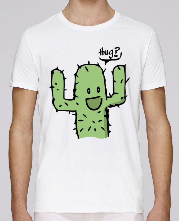 T-Shirt Col Rond Stanley Leads cactus calin gratuit par Tête Au Carré