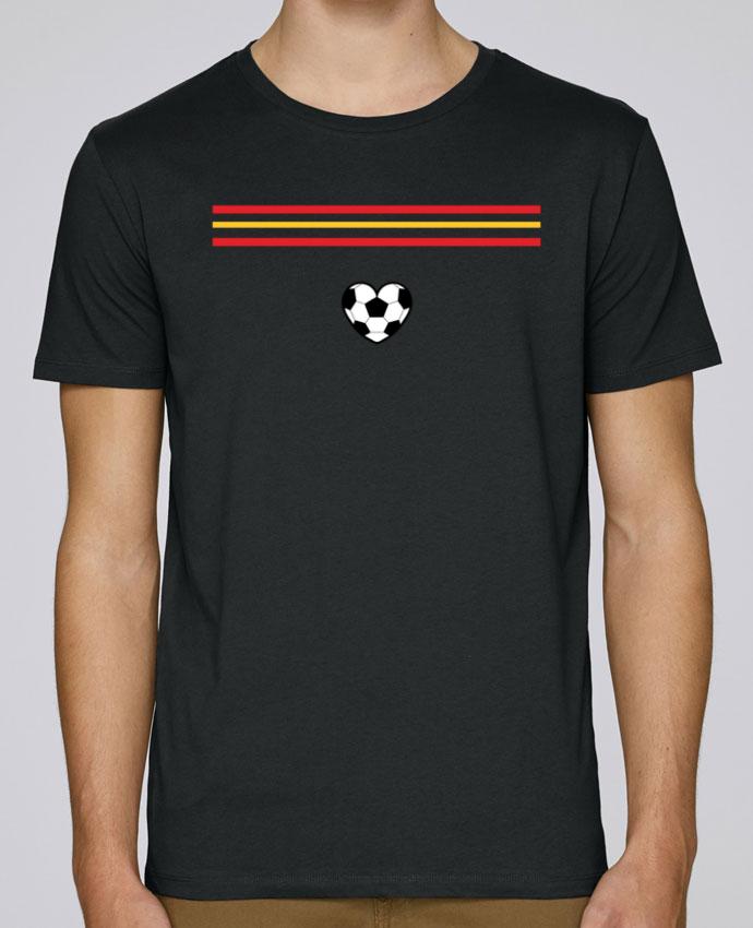 T-Shirt Col Rond Stanley Leads Bandera corazón par tunetoo