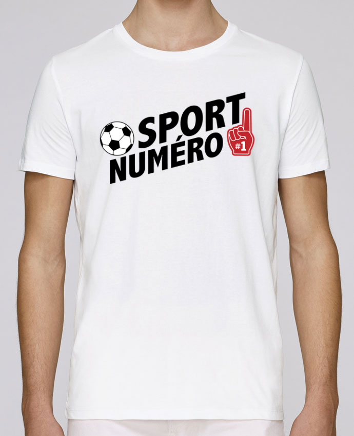 T-Shirt Col Rond Stanley Leads Sport numéro 1 Football par tunetoo