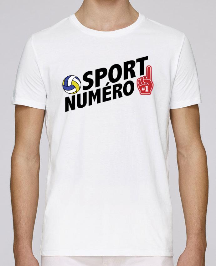 T-Shirt Col Rond Stanley Leads Sport numéro 1 Volley par tunetoo